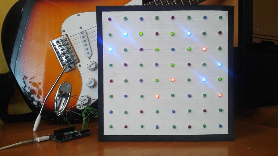 Arduino LED array - Petr Marek